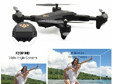 VISUO XS809HW 2.4G Foldable 720P Wide Angle Camera FPV RC Drone Altitude Hold TY