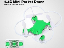 Dwi X1 2.4G Mini Pocket Drone RC Quadcopter with Headless 360° One Key Retur?A1&