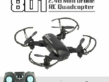 801 2.4G Mini Foldable Drone Headless Model RC Quadcopter with LED Li MZ