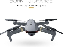 Drone HD 2MP, WiFi Smartphone + 2Batteries