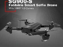 SG900-S RC Foldable Smart Selfie GPS Drone 1080P HD Camera Altitude Hold TY