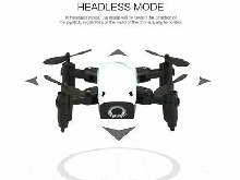 S9W WIFI FPV 0.3MP Camera Mini Foldable Drone Atitude Hold Mode RC Quadcopter TY