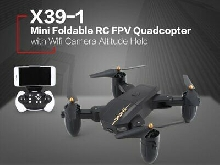 Utoghter X39-1 Mini Foldable RC Quadcopter with FPV Camera Drone Altitude Hold D