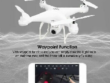 SJ R/C GPS FPV 1080P Camera Drone Altitude Hold Headless Mode RC Quadcopter TY