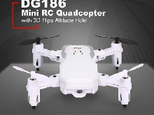DG1862.4G Mini RC Quadcopter Foldable Drone with 3D Flips Altitude Hold TY