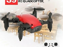 S9 2.4G Mini Foldable Drone 360 Degree Flip One-Key Return RC Quadcopter QW
