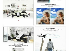 X28 Foldable GPS RC Drone with Adjustable 720P Wifi HD Camera Altitude Hold TY