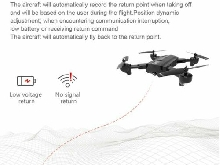 SG900-S RC Foldable Smart Selfie GPS Drone 720P HD Camera Altitude  NF