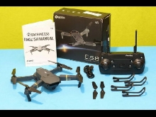 EACHINE E58 - WIFI RC Drone 2MP Caméra 2  Batteries FPV Pack