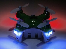 Green Drone Mini 6 Axis RC Quadcopter Electric Helicopter for  JJRC DHD  NQ
