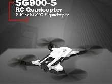 Foldable RC SG900-S Smart Selfie GPS Drone 720P HD Camera Altitude H DT