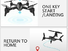 SG106 RC Drone 1080P Dual Camera Optical Flow Real Time Aerial Video 3 Batt BF