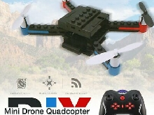L222 RC DIY Building Block 3D Bricks Mini Drone Quadcopter with 3D Flips  DT