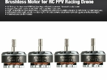 4pcs HGLRC Flame 2207 1775KV 5-6S Brushless Motor for RC FPV Racing Drone R/C