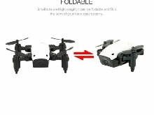S9 2.4G Mini Foldable Drone 360 Degree Flip One-Key Return RC Quadcop MZ