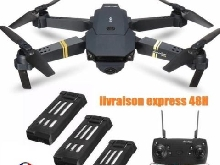 DRONE X PRO HD 720p 2MP  FPV eachine e58 mavic pro 3 BATTERIES LIVRAISON EXPRESS