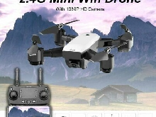 Mini Wifi Drone With 1080P HD Camera SMRC S20 2.4G Altitude Hold RC Quadco FD