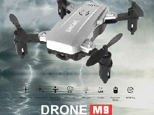 M9 Mini RC Foldable Quadcopter Drone with 3D-Flip Altitude Hold Headless M MZ