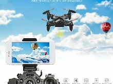 Portable Remote Control Watch Style 2.4G 0.3MP Wifi Mini Foldable Drone FD