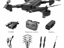 SG900 Foldable Quadcopter 720P RC Drone WIFI Drones GPS Optical Flow Positioning