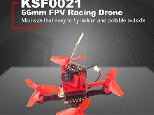 Happymodel Trainer66 Mini 66mm RC FPV Racing Drone Quadcopter PNP Version YO