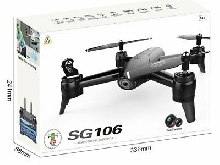 SG106 RC Drone 4K Dual Camera Optical Flow Real Time Aerial Video Quadcopter