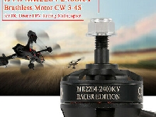 Moteur Dys MR2204 2400KV Filetage 3-4s Pour Drone RC FPV Racing Multirotor G8K9