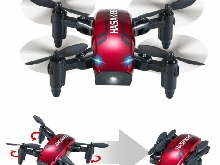 Mini Drone Pliable Mode Maintien en Altitude 2.4Ghz 6 Axes Gyroscope RC Selfies