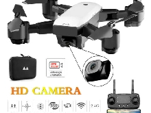 SMRC S20 RC Drone Foldable Quadcopter with WIFI 720P/1080P HD Camera FPV GSE