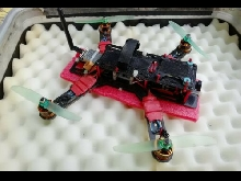 Racer drone quadcopter FPV