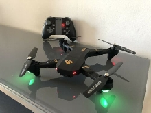 Visuo XS809W Mini Drone Pliable avec Wifi FPV 0.3MP/2MP Camera Maintien Altitude