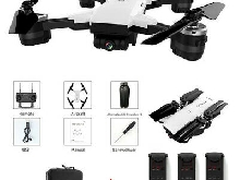 JD-20 RC Drone x pro 5G WIFI FPV GPS With 1080P HD Camera Foldable RC Quadcopter