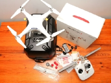 DJI Phantom 3 Standard Drone | GL358wA Controller | MOD Antenna upgrade and CASE