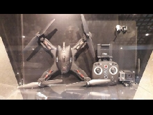 Pack Go Pro Hero et drone R'Bird Black Master