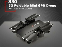 S30 5G RC Drone with 1080P Wifi Camera Foldable Mini Quadrocopter GPS DroneNNY