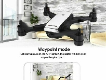 X28 Foldable GPS RC Drone with Adjustable 720P Wifi HD Camera Altitude H LQ