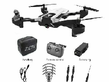 SG900 Foldable RC Drone 4K Camera Optical Flow Position Aircraft w/ 3 Batt LQ