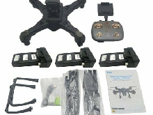 LH-X38G Drone Dual GPS WIFI FPV Drone With 4K Camera RC Drone w/ 3*Batter LQ