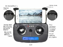 SG906 GPS 5G WIFI FPV Foldable 1080P Camera RC Drone w/2*Batteries General  LQ