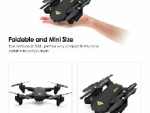 VISUO XS809HW 2.4G Foldable 720P Wide Angle Camera FPV RC Drone Altitude H LQ