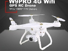 Attop W9PRO 4G Wifi GPS 1080P FPV Camera Drone With Headless Altitude HolYx