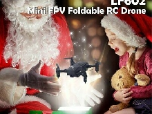 LF602 Mini FPV Foldable RC Drone 0.3MP Camera Gesture Selfie Altitude HolYx