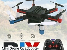 L333 RC DIY Building Block 3D Bricks Mini Drone Quadcopter with 3D Flips DIYx