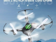 JJR/C H8 Mini 2.4G 4CH 6-axis Gyro Headless Mode Drone 360 flips Quadcop BR