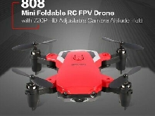 808 Mini pliable RC Quadcopter Drone 720P HD Réglable Hold Altitude de la caméra