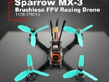 GEPRC Sparrow MX-3 Micro 5.8G 600TVL Caméra sans brosse FPV Racing Drone BNF PAL