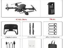 Drone RC Drones x Pro 5G With 4K HD Dual Camera WIFI FPV Foldable Quadcopter HT