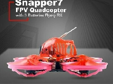 Happymodel Snapper7 WhoopI Brushless Aircraft BNF Micro FPV Drone Flysky Récepte