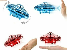 UFO Hand Flying UFO Mini Induction Suspension RC Aircraft Drone ToyYx