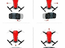 GW10 Mini RC Drone 4CH G-Sensor Wide Angle Lens 2MP Wifi Drone Quadcopter WY